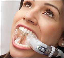 Dental treatment with isolite